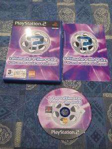 PS2 : IL GRANDE QUIZ SUL CINEMA - Completo, ITA ! Fino a 4 giocatori!