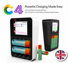 ISDT C4 Smart NiMH Battery Charger with Full Colour LCD Screen - UK Version