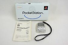 PS Sony Official POCKET STATION Console Crystal SCPH-4000 Boxed 1411 Playstation