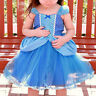 Elsa Anna Kids Girls Costume Princess Party Dresses Cosplay Fancy Dress Up