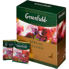 Greenfield tea Spring Melody 100 pack black