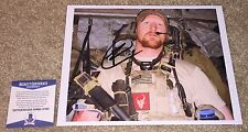ROBERT O'NEILL SIGNED 8x10 PHOTO BIN LADEN SHOOTER SEAL TEAM SIX NAVY SEALS BAS