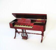 Jiayi 1:12 Dollhouse Pianoforte mahogany mogano