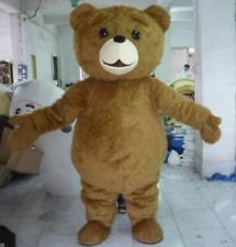 2017 Teddy Bear of TED Adult Size Halloween Cartoon Mascot Costume Fancy Dress