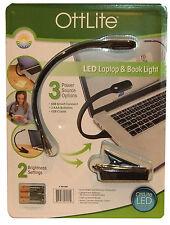 Ottlite Led Laptop/libro de lectura de la luz con Smart Connect Baterías O Usb