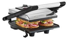 Bella (13267) Electric Panini Press Sandwich Maker, Silver
