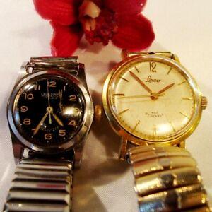 2 alte Laco Uhren Armbanduhr Herrenuhr 1 x Laco Sport funktionstüchtig / el 876
