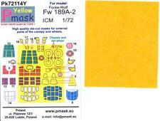 Model Maker 1/72 FOCKE WULF Fw-189A-2 Kabuki Tape Paint Mask Set for ICM Kit