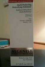 Algenist Multi-Perfecting Detoxifying Exfoliator Oil Free 2.7 fl oz/80 ml NIB