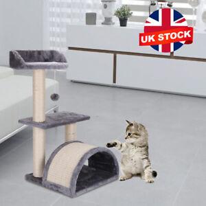 Cat Tree Climbing Scratching Post Activity Centre Pet Toys Scratcher Tower UK