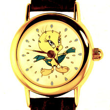 Tweety Bird Showering On Animated Dial, Fossil Warner Bros Watch Collection $119
