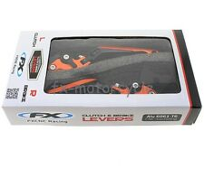 KTM 1290 SUPERDUKE R BRAKE & CLUTCH ORANGE W/H LOGO FOLDING LEVERS RACE