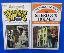 LOT of 2 Sherlock Holmes Paperbacks G55 FN+ Arthur Conan Doyle