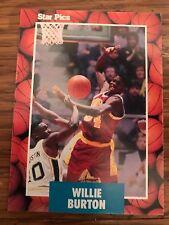 1990 Star Pics Willie Burton University of Minnesota 27