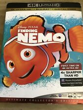 Finding Nemo 4K Ultra Hd Blu-Ray With Slip Cover