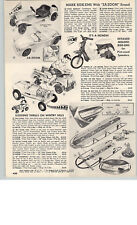 1966 PAPER AD Honda Jr. Toy Play Motorcycle Bicycle Twin Tiger Tone Motor Marx