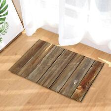 Barn Door Wood Board Decor Non-Slip Outdoor Indoor Front Door Mat bathroom