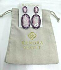 Kendra Scott Kaki Statement Dangle & Drop Earrings Lilac Pearl Purple