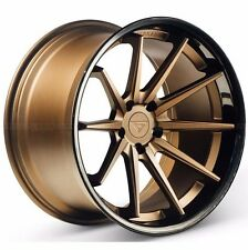 "20"" Ferrada FR4 20x9 Concave Matte Bronze Wheels for BMW E92 E93 M3 2007-2013"