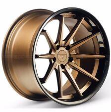 """20"""" Ferrada FR4 20x9 Concave Matte Bronze Wheels for BMW E92 E93 M3 2007-2013"""