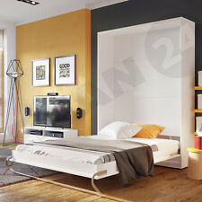 Schrankbetten mit matratze g nstig kaufen ebay for Funktionsbett 160x200