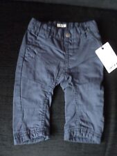 MEXX BABY BOYS LINED NAVY TROUSERS AGE 3-6 MONTHS BNWT