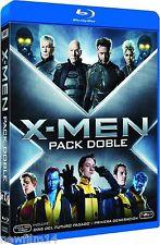 PACK X-MEN PRIMERA GENERACION + DIAS DEL FUTURO PASADO BLU RAY NUEVO (SIN ABRIR)