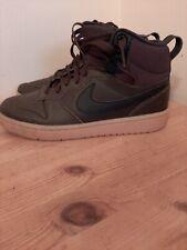 Nike Court Borough Mid 2 Shoes Trainers Uk Size 4.5/ 5   Bq5440 200