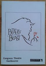 Beauty and the Beast programme Eastbourne Congress Theatre 2005 Nic Greenshields