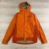 Vintage Patagonia H2NO Light Windbreaker Jacket Mens Orange Size Medium