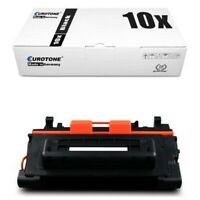 10x Eco Eurotone Toner Black Replaces Canon CRG039H LBP-352 x Ca. 25.000 Pages