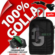New Golla Universal Compact Digital Camera Case Bag Dark Brown for Sony Samsung