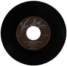 """EDDIE TAYLOR  """"I'M GONNA LOVE YOU c/w LOOKING FOR TROUBLE""""  R&B"""
