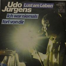 """Udo Jürgens - Lust am Leben SINGLE 7 """" (I213)"""