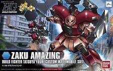 Gundam HG Build Fighters 002 Zaku Amazing Tatsuya Yuuki Custom Made Bandai Kit