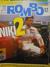ROMBO 21 1989 Provino di Nicola Larini alla Ferrari -
