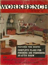 1966 Workbench Magazine: Finishing & Furnishing Attic/Antique Cradle/Dog House