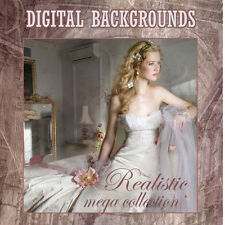 DIGITAL BACKGROUNDS backdrops props BRIDAL / MODEL/ HIGH SCHOOL SENIOR  MEGA SET