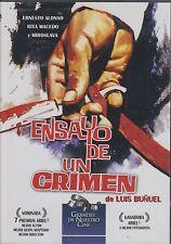 ENSAYO DE UN CRIMEN (1995) DE LUIS BUNUEL NEW DVD