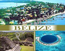 BELIZE - Travel Souvenir FRIDGE MAGNET