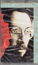 "K 7 AUDIO (TAPE)   ELVIS COSTELLO ""MIGHTY LIKE A ROSE""  (NEUVE SCELLEE)"