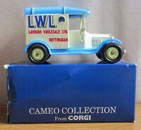Boxed (c) 1992 Cameo Collection Corgi Die Cast Model - Model T Ford Van Landbro