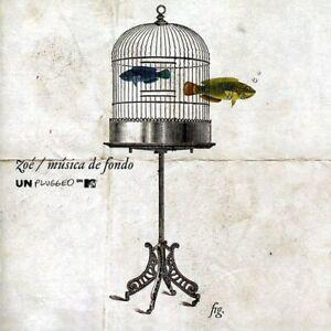 ZOE Musica De Fondo - MTV Unplugged 2 LP vinyl New! caifanes bunbury cafe tacuba