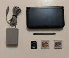 Nintendo 3DS XL Handheld Console - Black (SPR-S-BKAB-USZ)4GB pokemon super smash