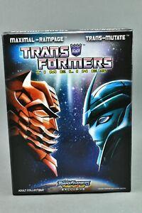 Transformers TFCC Trans-Mutate Rampage TFSS Botcon