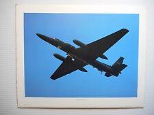 "USAF Lockheed U-2 Print 1987 - 16"" x 20"""