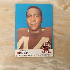 Football Card. 1969 Topps #1 Cleveland Browns Leroy Kelly