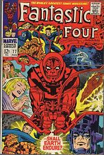 """FANTASTIC FOUR # 77-1968-LEE/JACK KIRBY-""""...SHALL EARTH SURVIVE?""""-SILVER SURFER"""
