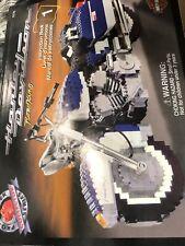Harley Davidson Mega Bloks Pro Builder  Road King 9770 Just Opened One Pack