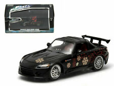 GREENLIGHT 1:43 FAST & FURIOUS JOHNNY'S 2000 HONDA S2000 BLACK